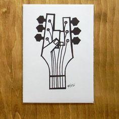 Image result for vintage rock music drawing