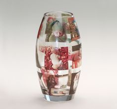 Bud Vase using your own photos! What a great gift!!!
