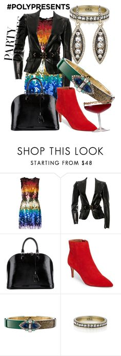 """""""Party Like it's 1999"""" by carmacollectioncandi on Polyvore featuring Alice + Olivia, Gucci, Louis Vuitton and Chloe + Isabel"""
