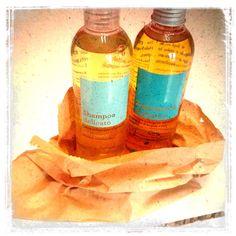 Biofficina Toscana bagnodoccia e shampoo da The Beauty Parlor Bioprofumeria www.thebeautyparlor.it