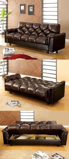 Hidden Compartments, Vinyl Storage, Vinyl Fabric, Bed Frames, Garden Beds, Sofa Bed, Spin, Living Room Furniture, Soft Leather