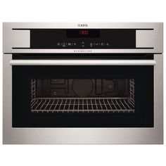 AEG KR8403101M - Built in Microwave & Grill for Tall Housing - Stainless Steel