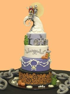 @Melissa Cox - Look at this amazing Nightmare Before Christmas cake!! events