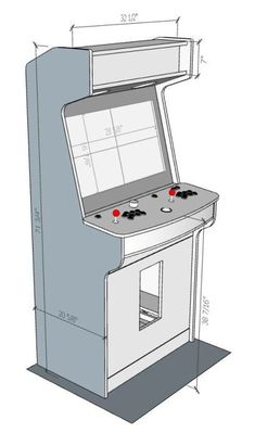 Building A Computer 636274253584963893 - New Cabinet Build: Lakeside Arcade – plenty of pics. Source by louvictorr Retropie Arcade, Arcade Bartop, Retro Arcade Games, Arcade Stick, Arcade Game Console, Arcade Game Room, Arcade Game Machines, Retro Arcade Machine, Gaming Cabinet