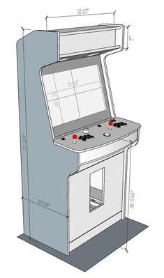 44 best arcade cabinet plans images arcade cabinet plans games rh pinterest com
