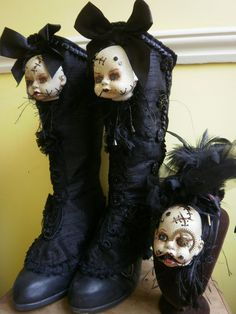 Doll head spats...