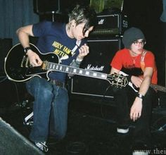 Frank and Mikey 💚💚