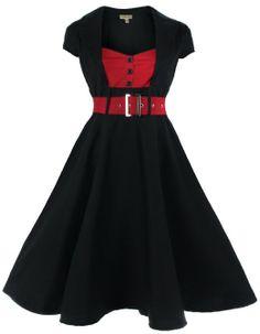 Lindy Bop Women's 'Geneva' 1950's Vintage Inspired Swing Party Dress