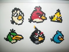 Perler Bead Pattern Disney Characters | perler beads angry birds to see this picture perler beads angry birds ...