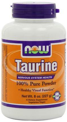 NOW Foods Taurine Pure Powder, 8 ounce Now Foods,http://www.amazon.com/dp/B000BQSQ68/ref=cm_sw_r_pi_dp_H66Tsb0QZAEP58XH