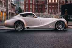 Steampunk on wheels: The Morgan Aero Coupe