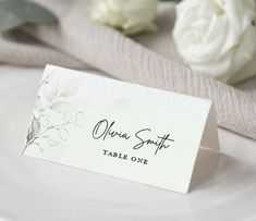 Place Cards Template, Green Place Cards Template, Wedding Place Card, Escort Cards, Editable Template, Shower Place Cards, Seating Template Wedding Places, Wedding Place Cards, Edit Text, Web Technology, Table Signs, Table Cards, In Loving Memory, Web Browser