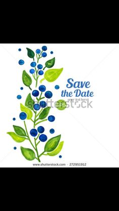 Strawberry Blueberry, Save The Date, Home Decor, Decoration Home, Room Decor, Wedding Invitation, Home Interior Design, Home Decoration, Interior Design