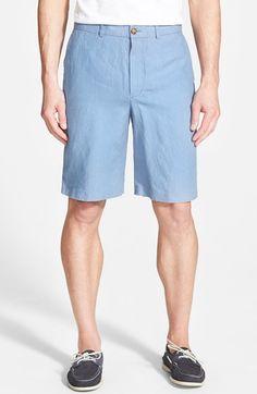 Men's Big & Tall John W. Nordstrom Linen Shorts