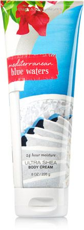 MEDITERRANEAN BLUE WATERS Ultra Shea Body Cream - Signature Collection - Bath & Body Works