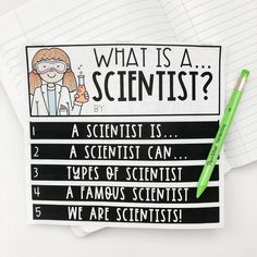 Types Of Scientists, Second Grade Science, Texas Teacher, Research Projects, Interactive Notebooks, Student Work, Fun Learning, Social Studies, Curriculum