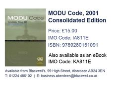 Marpol consolidated edition 2017 ie520e isbn 9789280116571 modu code 2001 consolidated edition ia811e isbn 9789280151091 fandeluxe Images