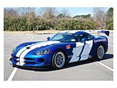 2010 Dodge Viper 2dr Cpe SRT1 ACR World Challenge Edition Click to find out more - http://newmusclecars.org/2010-dodge-viper-2dr-cpe-srt1-acr-world-challenge-edition/