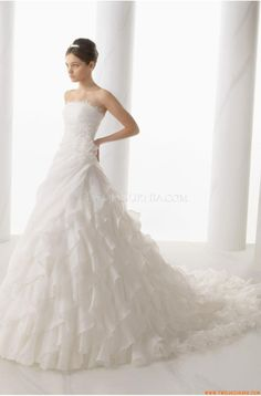 Inverted Triangle Wedding Dresses