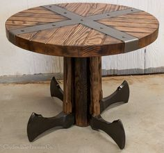 Viking Fan Table by ClydesdaleFrames on Etsy