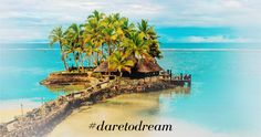 Dare to Dream with Eddy K. and picture your honeymoon in beautiful Fiji!!!