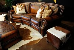 The new owners of the Denver Merchandise Mart are having a soft opening of a new space called the Western Home & Design Center. This furniture is from the Eleanor Rigby Leather Company display. Cyrus McCrimmon, The Denver Post