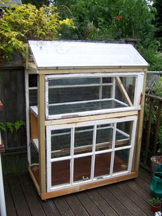 Did you know you can build your own greenhouse from old windows? Learn how to build a greenhouse from recycled materials in the following article and get started today. Click here for more info.