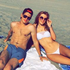 Pin for Later: Time to Gush Over Bella Thorne and Gregg Sulkin's Cutest Instagram Snaps When They Showed Off Their Beach Bodies