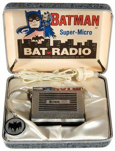 Super-Micro Bat Radio