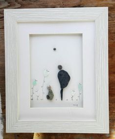 Gifts anniversary husband 21 ideas for 2019 Sea Glass Art, Glass Wall Art, New Home Gifts, Gifts For Wife, Husband Gifts, Pebble Art Family, Pebble Pictures, Art Friend, Cat Wall