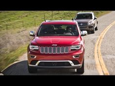 2014 Jeep Grand Cherokee EcoDiesel vs 2013 Volkswagen Touareg! - Head 2 Head Episode 30