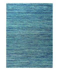 Look at this #zulilyfind! Blue & Ocean Rug #zulilyfinds