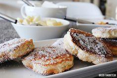 Sisustamista, hyvää ruokaa ja käsillä tekemistä käsittelevä lifestyleblogi Desert Recipes, Baking Recipes, French Toast, Deserts, Candy, Breakfast, Mat, Smoothie, Sweet Treats
