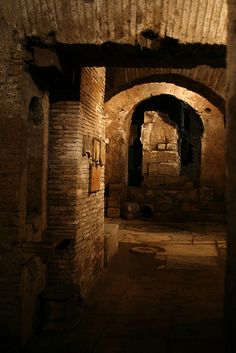 Mithraeum under what was once the Circus Maximus, Rome