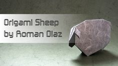 Year Of the Sheep origami Re Mendations What to Fold February Origami Goat, Origami Paper, Origami Instructions, Origami Tutorial, Christmas Star, Christmas Toys, Christmas Ornaments, Roman, Origami Animals