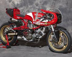 Ducati Pantah 600 Cafe Racer – XTR Pepo