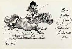 Thelwell's ponies...