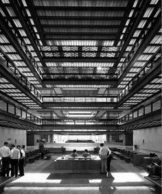 Eero Saarinen bell labs holmdel complex. New Jersey. 1959 -1962