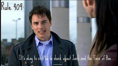 Rule 409: Its okay to still be in shock about Jack and the Face of Boe