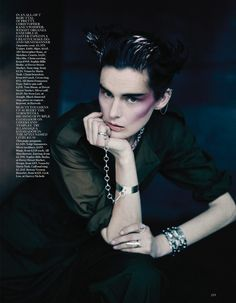 pretty vacant: stella tennant and guinevere van seenus by paolo roversi for uk vogue may 2013 | visual optimism; fashion editorials, shows, campaigns & more!