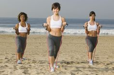 Resistance Band Workouts  ~ They say this works... I know isometrics works for me... PCOS Lady