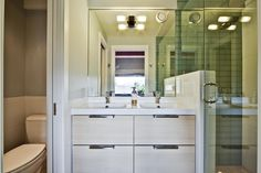 Washroom Double Vanity, Double Sinks, Home Inc, Washroom, Home And Family, Whistler, Mirror, Single Family, Awards