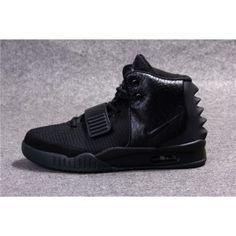 """promo code 4fd80 33539 Nike Air Yeezy 2 Hommes Chaussures """"Blackout"""" Anticipation autour de la  sortie de la"""