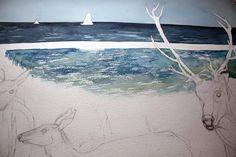 Step 6 – Malen der Ostsee (c) Frank Koebsch