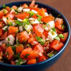 Used as salsa or garnish, this homemade pico de gallo recipe is easy to whip up on a whim and perfect for adding a dash of Mexican flavor to any dish or dip! GET THE RECIPE:. Honey Garlic Chicken Wings, Honey Garlic Sauce, Garlic Shrimp, Orange Jello Salads, Teriyaki Chicken Wings, Jalapeno Popper Dip, Grape Jelly Meatballs, Homemade Teriyaki Sauce, Mexican Food Recipes