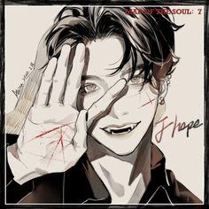 """ There are still 4 days before the release of the album. Manga Anime, Manga Boy, Anime Art, Drawn Art, K Wallpaper, Handsome Anime Guys, Bts Drawings, Bts Fans, Kpop Fanart"