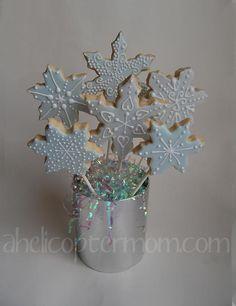 Christmas Cookies Snowflakes