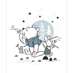 e7a0c5ced14 Winnie the Pooh Wonder & Whimsy Yardage Camelot Design Studio for Camelot  Cottons