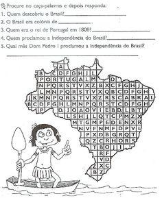 Blog Professor Zezinho : Atividades de História - Exercícios Ensino Fundame...