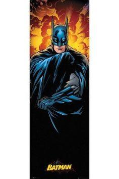 DC Comics Justice League Batman Door Poster